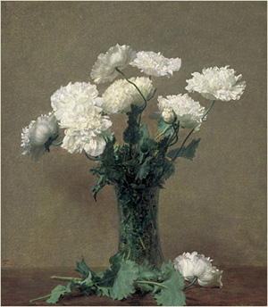 Poppies 1891 | Henri Fantin Latour | Oil Painting