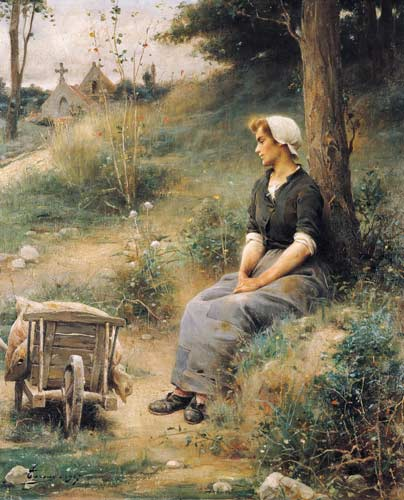 The Rest | Henri Adriene Tanoux | Oil Painting