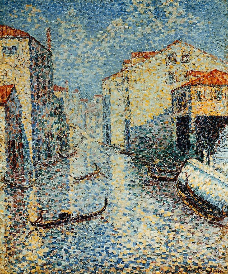 A Venetian Canal 1903 1905 | Henri Edmond Cross | Oil Painting