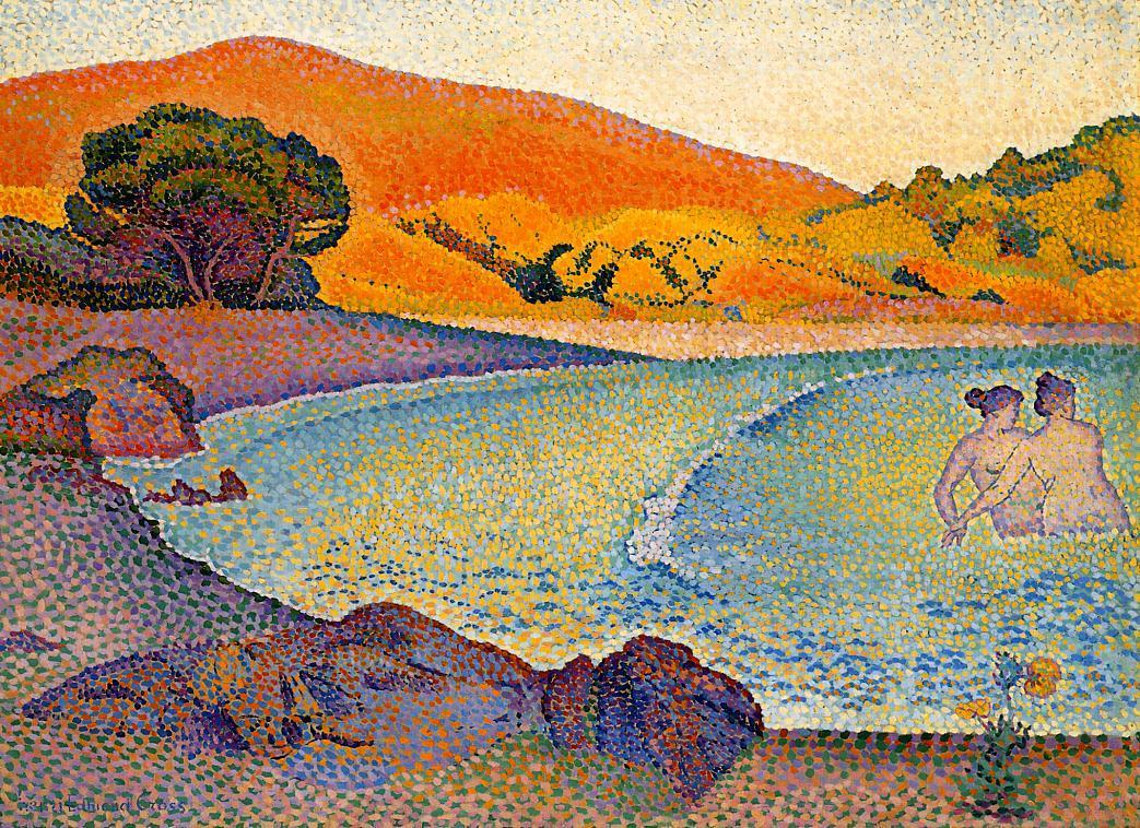 Bathers 1892 1895 | Henri Edmond Cross | Oil Painting