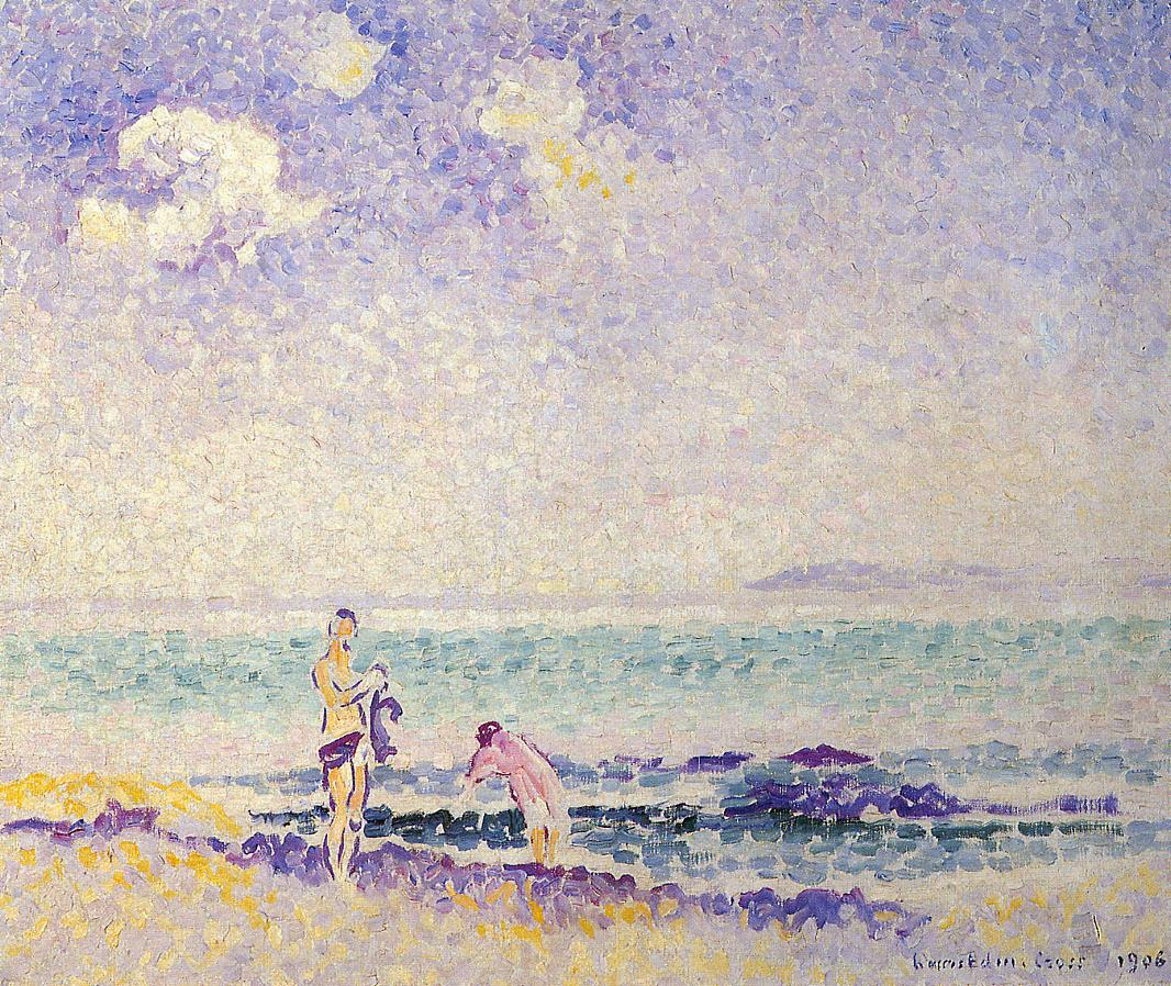 Bathers 1906 | Henri Edmond Cross | Oil Painting