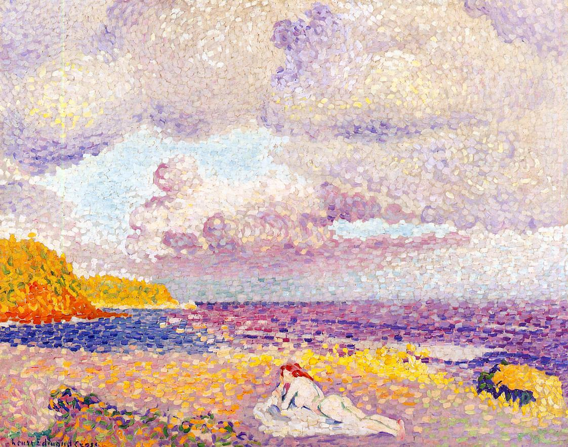 Before the Storm (aka The Storm) 1907 1908 | Henri Edmond Cross | Oil Painting