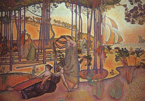 Evening Breeze 1893 1894 | Henri Edmond Cross | Oil Painting