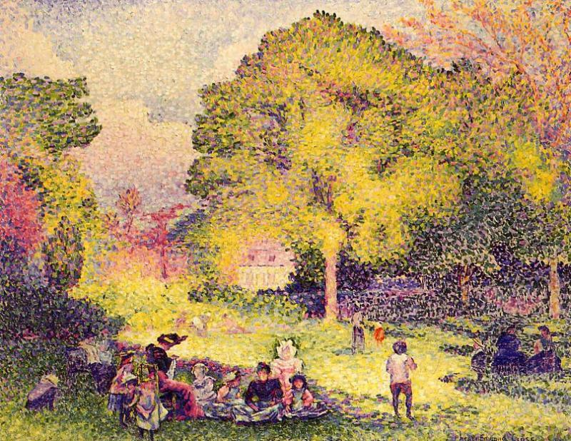 Le Ranelagh 1899 | Henri Edmond Cross | Oil Painting