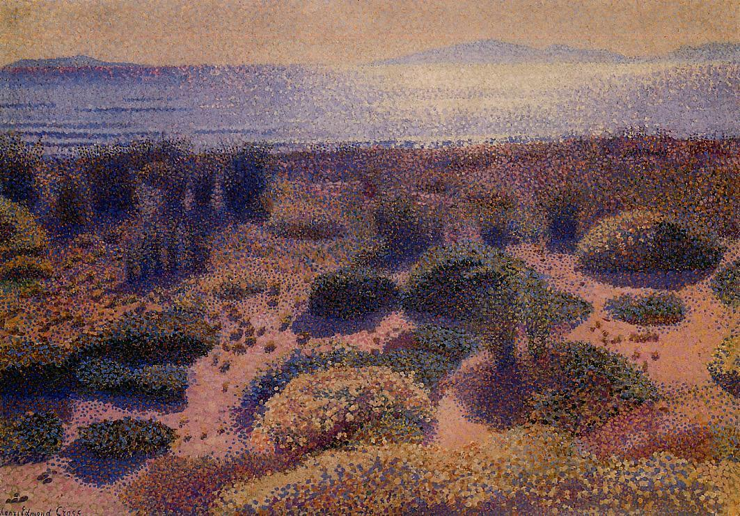 Plage de la Vignassa 1891 1892 | Henri Edmond Cross | Oil Painting