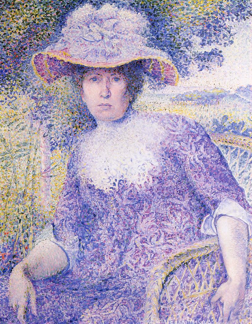 Portrait of Madame Cross 1901 | Henri Edmond Cross | Oil Painting