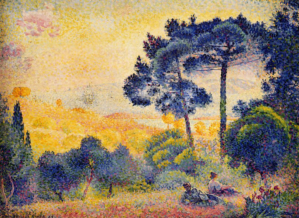 Provence Landscape 1898 | Henri Edmond Cross | Oil Painting