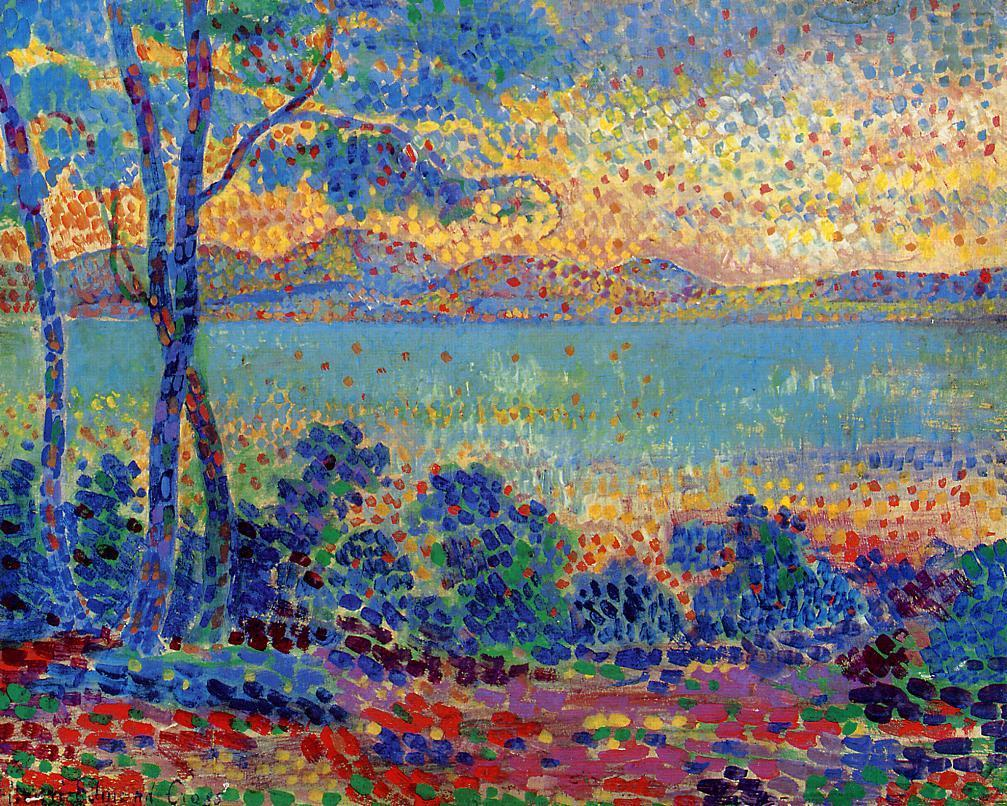 Provence Landscape 1900 | Henri Edmond Cross | Oil Painting