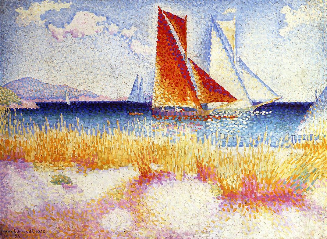 Regatta 1895 | Henri Edmond Cross | Oil Painting