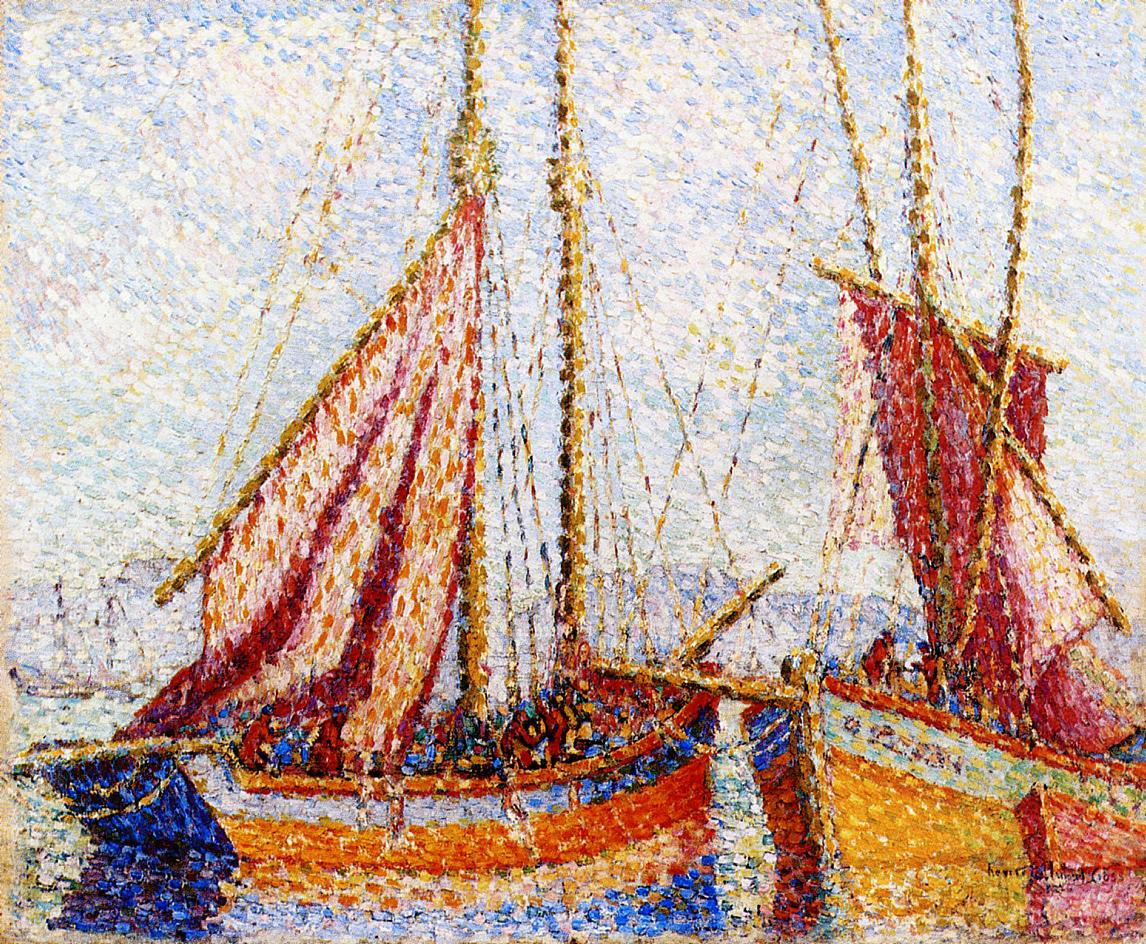 Sailboats | Henri Edmond Cross | Oil Painting