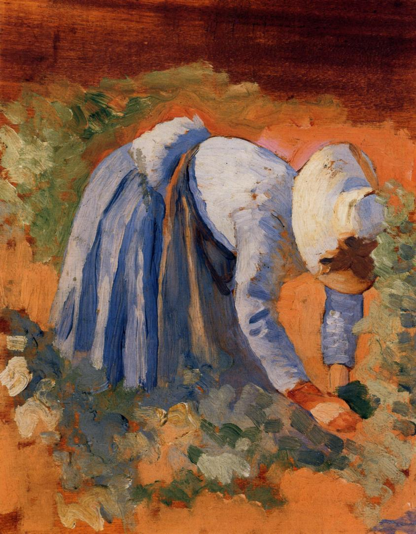 Study for The Grape Pickers 1892 | Henri Edmond Cross | Oil Painting