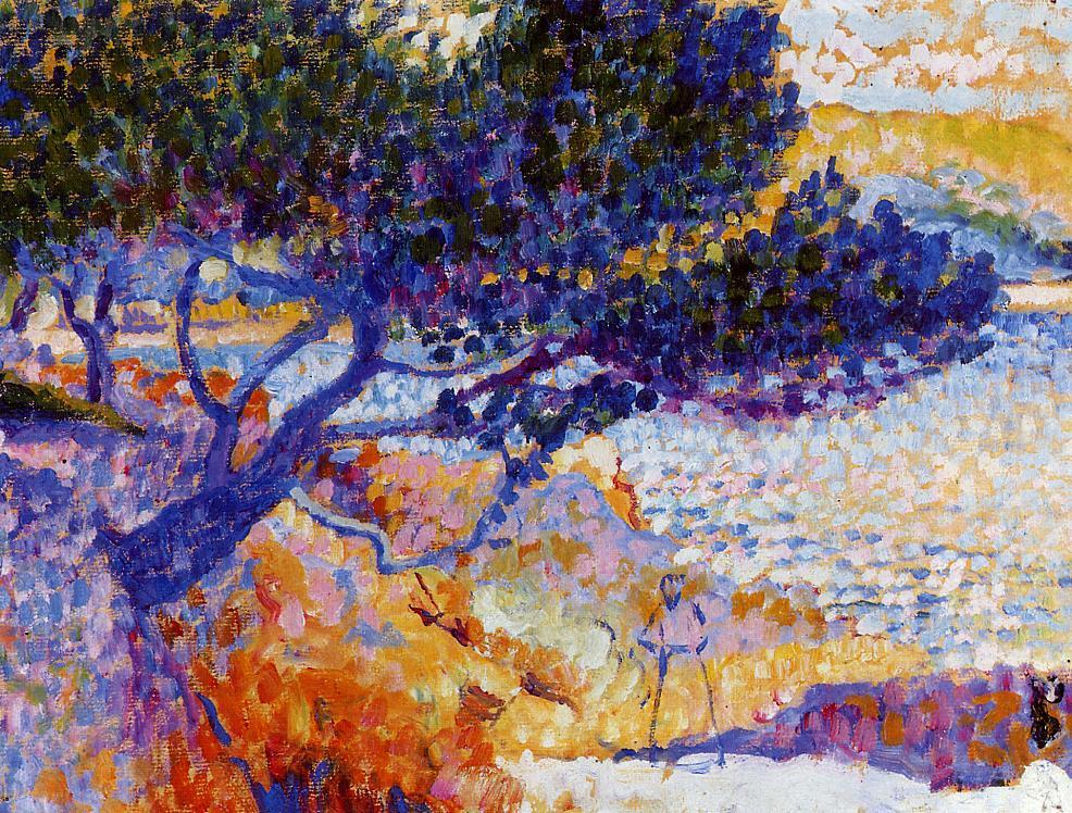 The Bay of Cavaliere (study) 1906 | Henri Edmond Cross | Oil Painting