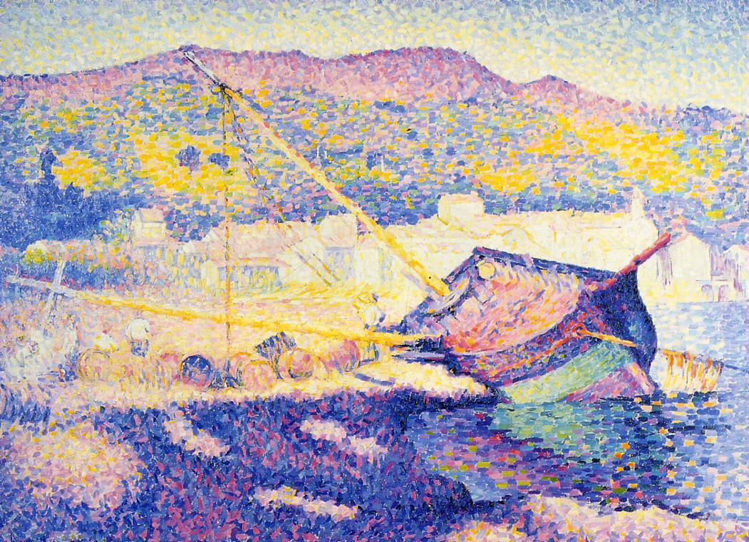 The Blue Boat 1899 | Henri Edmond Cross | Oil Painting