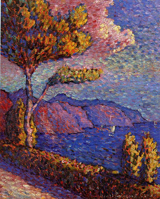 The Canal near St. Tropez | Henri Edmond Cross | Oil Painting