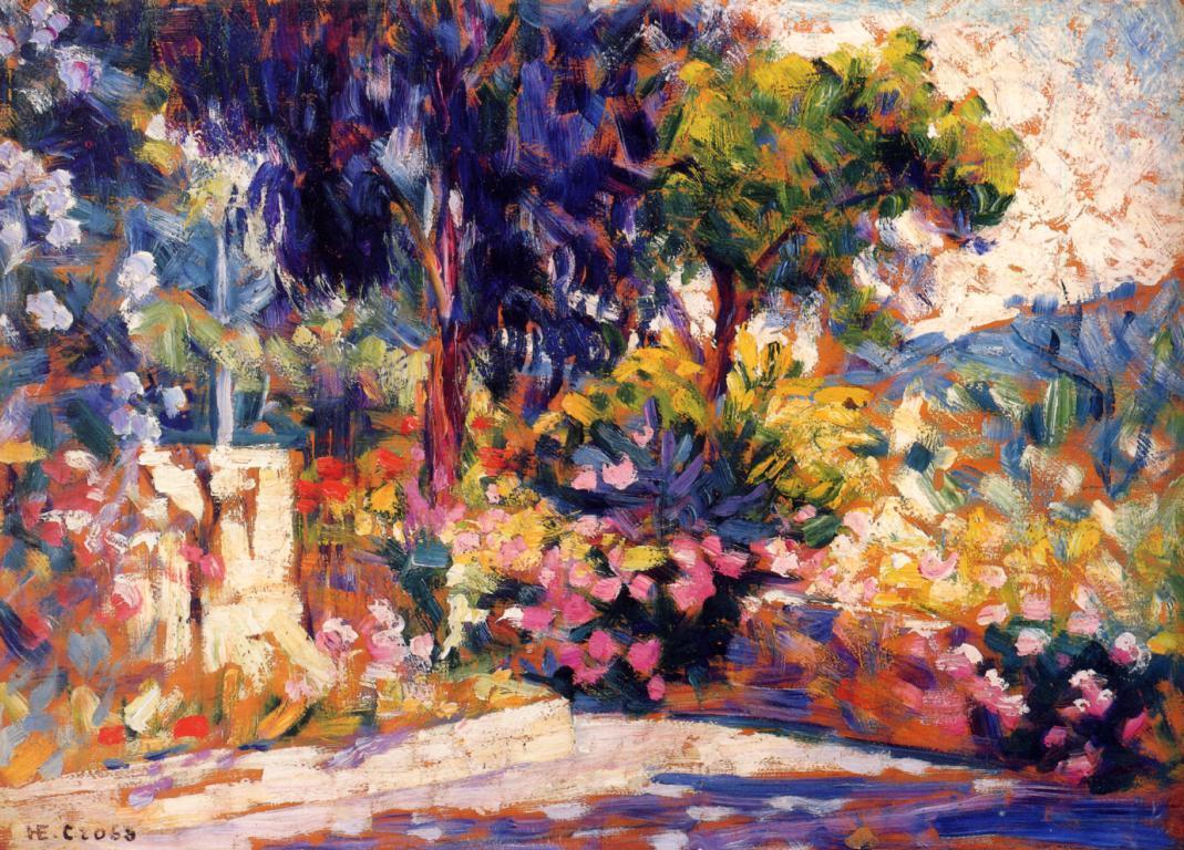 The Flowered Trees 1905 | Henri Edmond Cross | Oil Painting