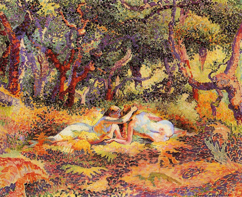 The Forest 1906 1907 | Henri Edmond Cross | Oil Painting