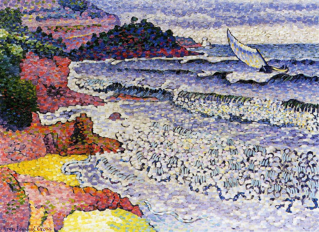 The Lapping Sea 1902 1905 | Henri Edmond Cross | Oil Painting