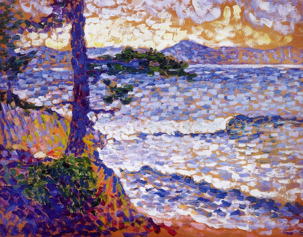 The Mediterranean Coast | Henri Edmond Cross | Oil Painting