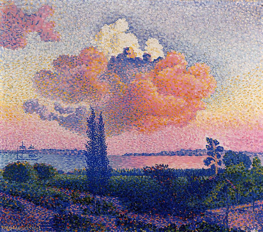 The Pink Cloud 1896 | Henri Edmond Cross | Oil Painting
