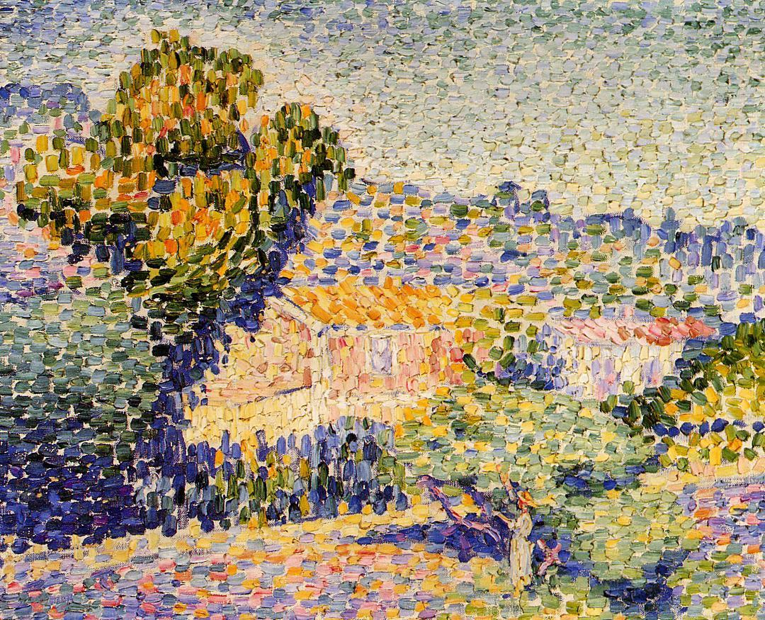 The Pink House 1901 1905 | Henri Edmond Cross | Oil Painting