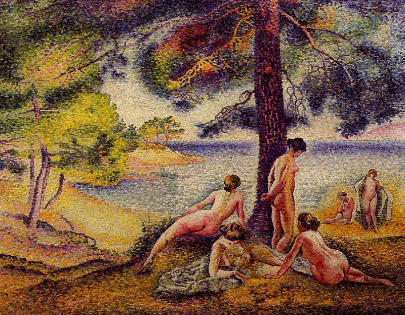 The Shady Beach 1902 | Henri Edmond Cross | Oil Painting