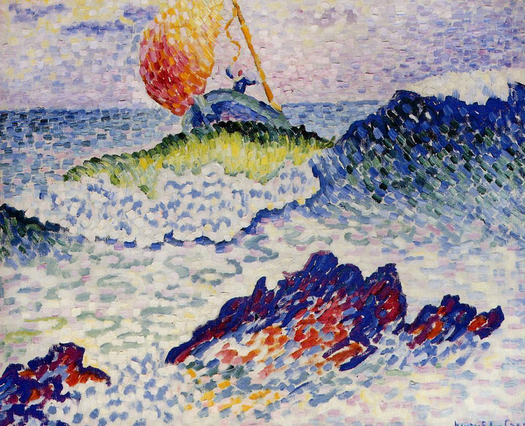 The Shipwreck 1906 1907 | Henri Edmond Cross | Oil Painting