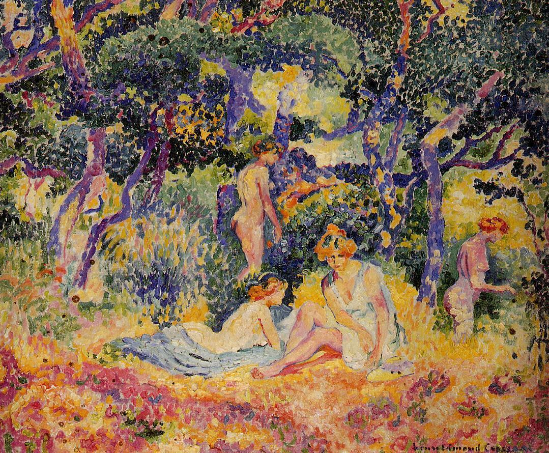 The Woods 1906 1907 | Henri Edmond Cross | Oil Painting