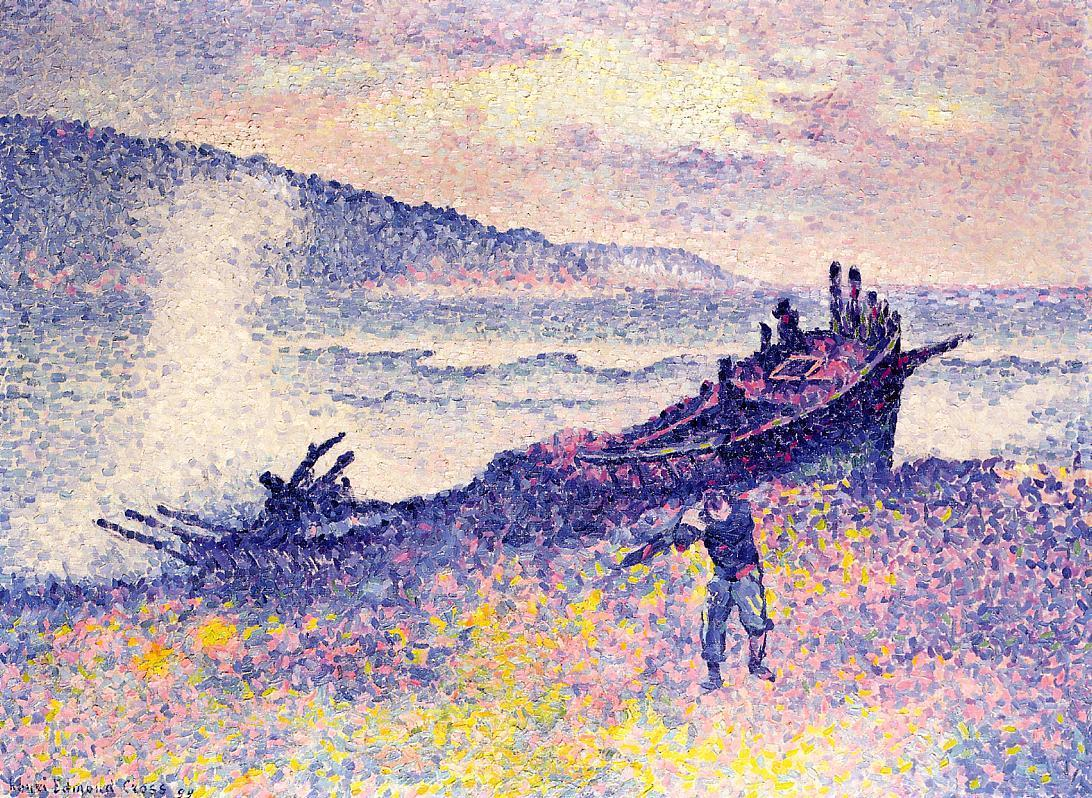 The Wreck 1899 | Henri Edmond Cross | Oil Painting