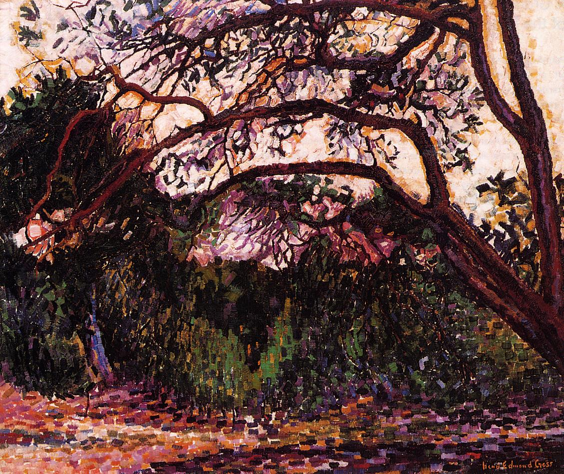 Woded Landscape | Henri Edmond Cross | Oil Painting