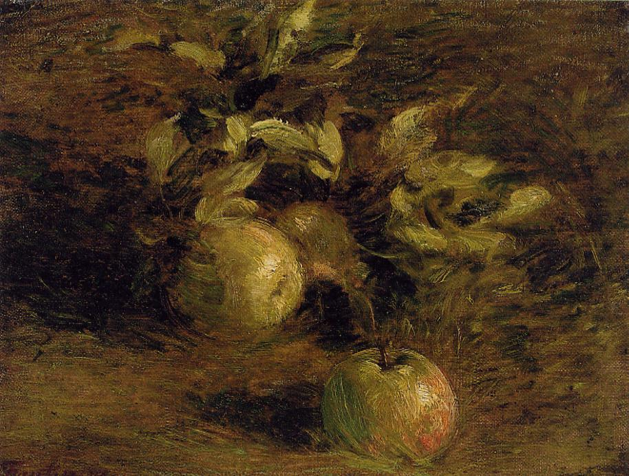 Apples 1876 | Henri Fantin Latour | Oil Painting