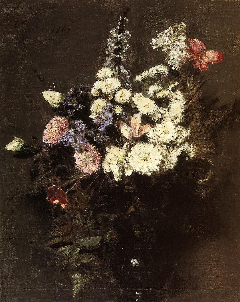 Autumn Flowers 1861 | Henri Fantin Latour | Oil Painting