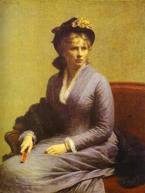 Charlotte Dubourg 1882 | Henri Fantin-Latour | Oil Painting