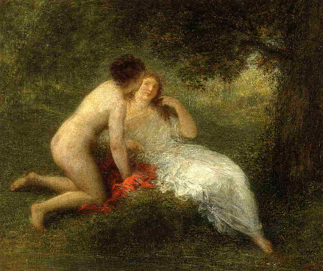 Bathers (aka The Secret) 1896 | Henri Fantin Latour | Oil Painting
