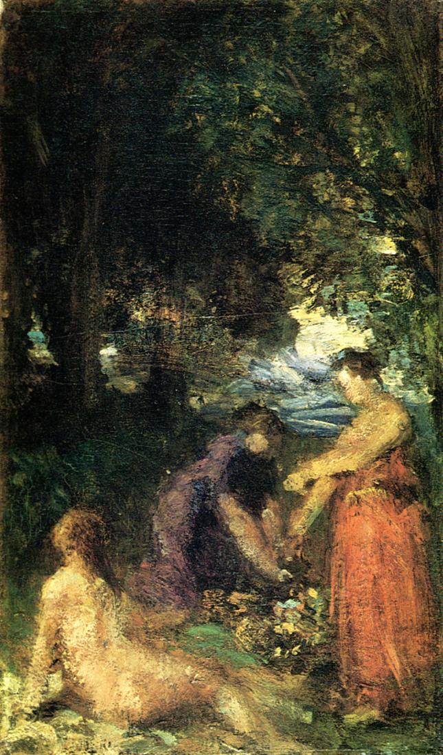 Bathers 1870 | Henri Fantin Latour | Oil Painting