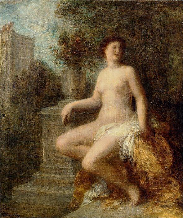 Bathsheba 1903   Henri Fantin Latour   Oil Painting