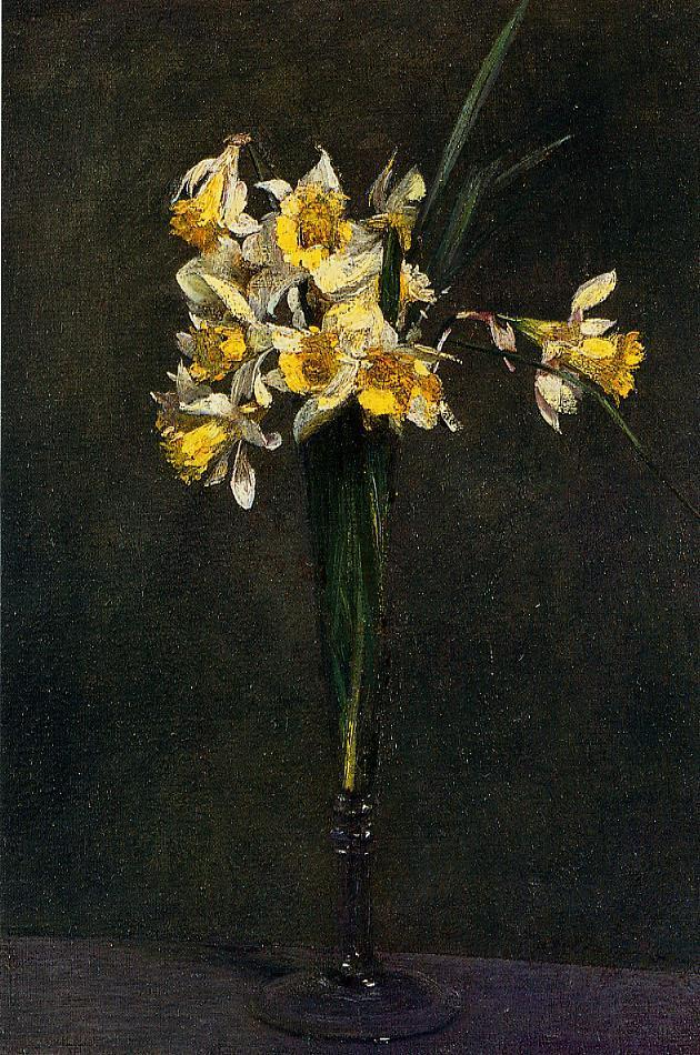 Yellow Flowers (aka Coucous) 1873 | Henri Fantin Latour | Oil Painting
