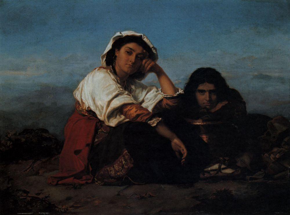 Les Repos 1864 | Henri Lehmann | Oil Painting