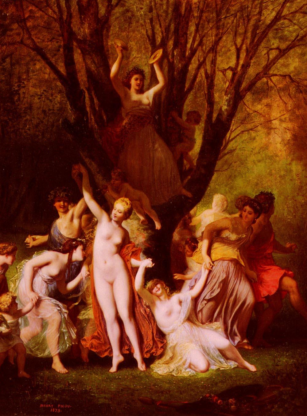Ronde De Mai | Henri Pierre Picou | Oil Painting