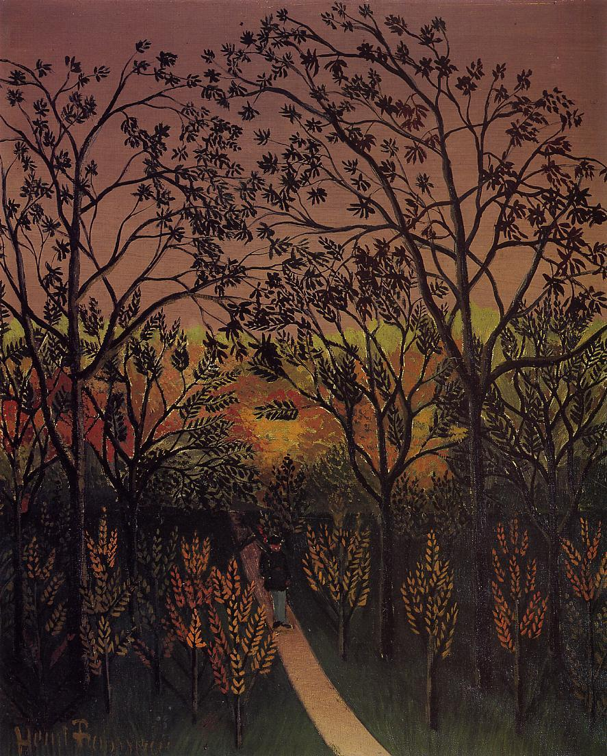 A Corner of the Plateau of Bellevue 1901-1902 | Henri Rousseau | Oil Painting