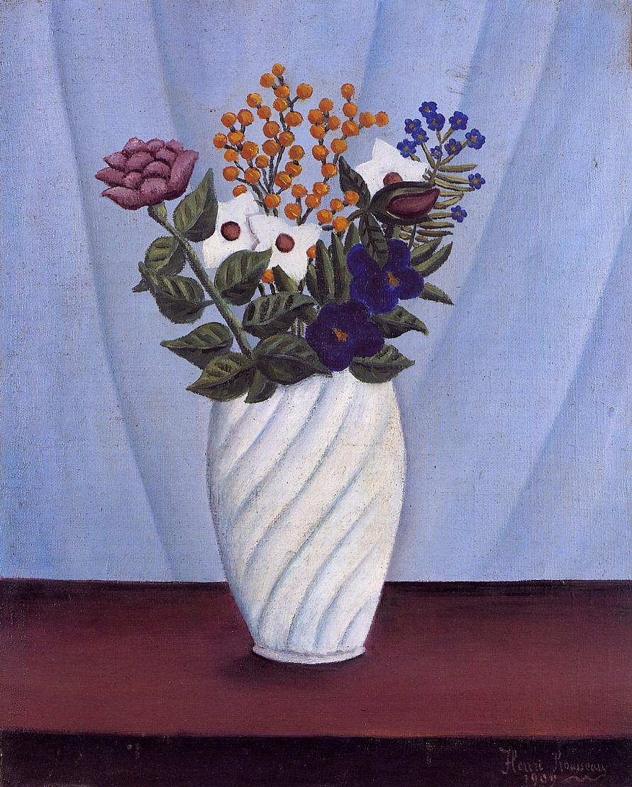 Bouquet of Flowers 1909 | Henri Rousseau | Oil Painting