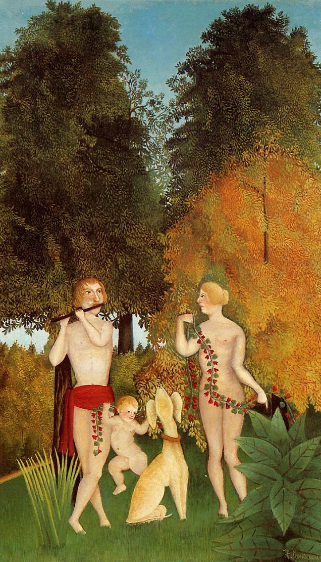 Happy Quartet 1901-1902 | Henri Rousseau | Oil Painting