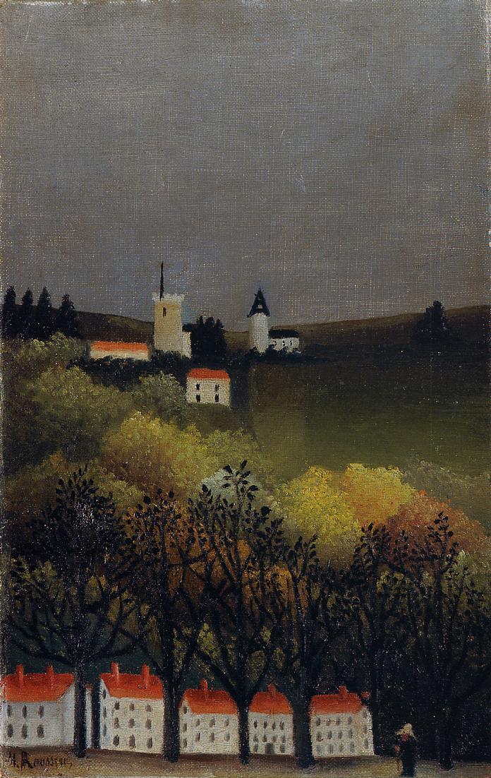 Landscape 1885-1886 | Henri Rousseau | Oil Painting