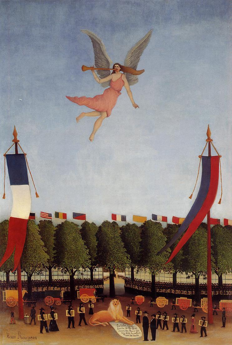 Liberty Inviting Artists to Take Part in the 22nd Exhibition of the Society of Independent Artists 1905-1906 | Henri Rousseau | Oil Painting