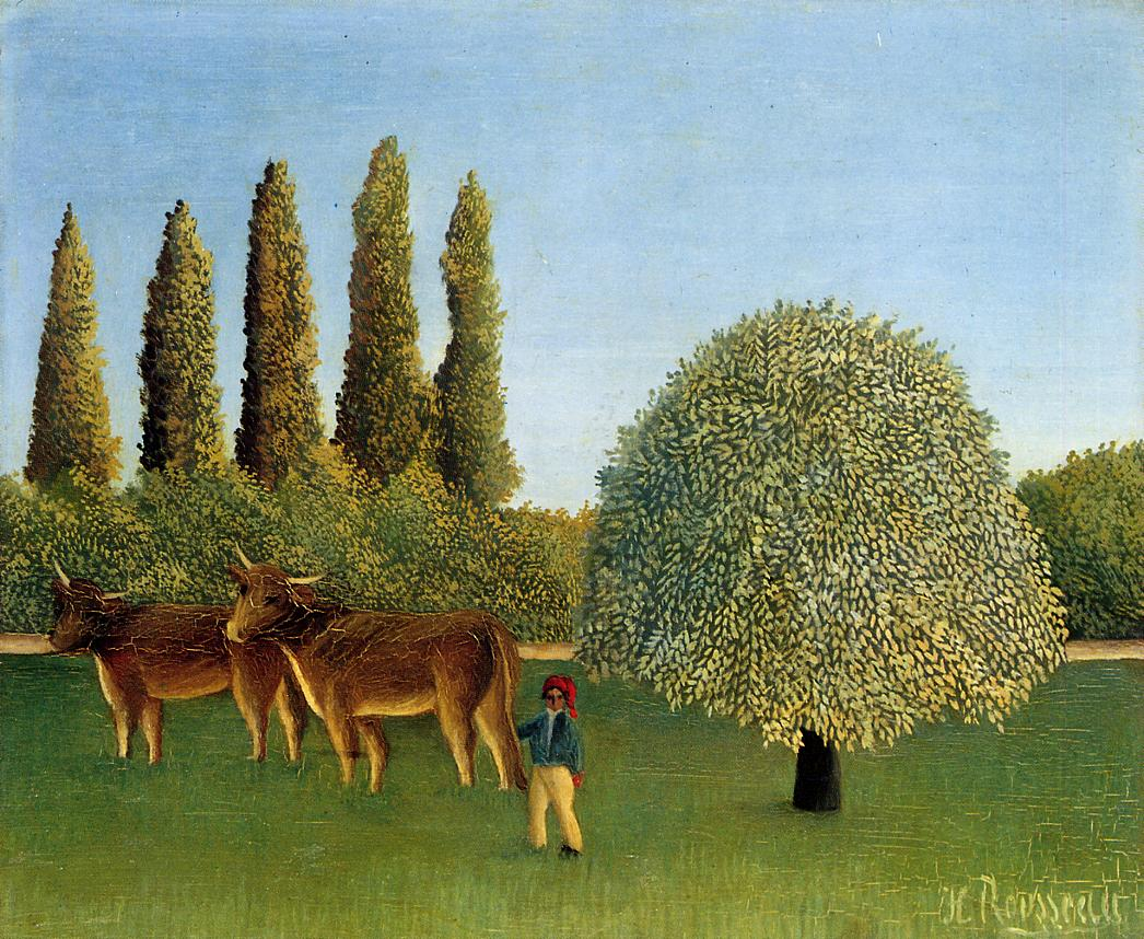 Meadowland 1910 | Henri Rousseau | Oil Painting