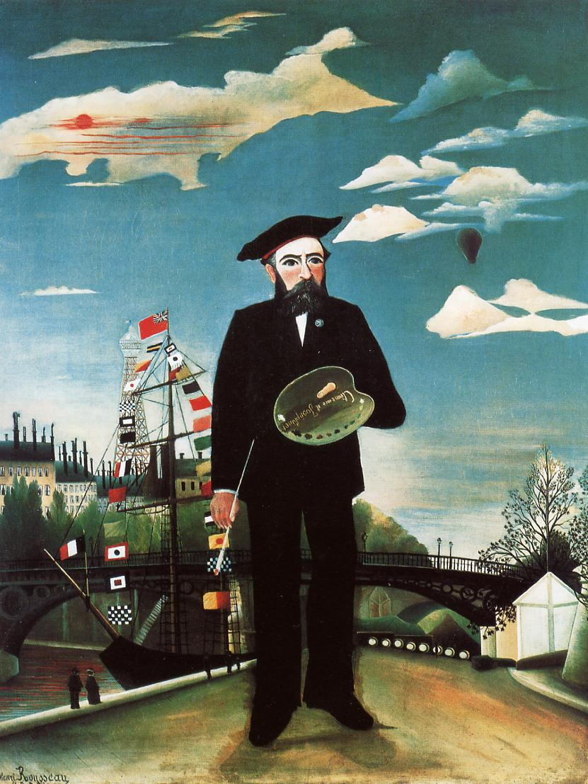 Myself Landscape Portrait 1890 | Henri Rousseau | Oil Painting