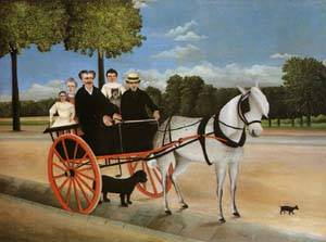 Old Juniors Cart 1908 | Henri Rousseau | Oil Painting