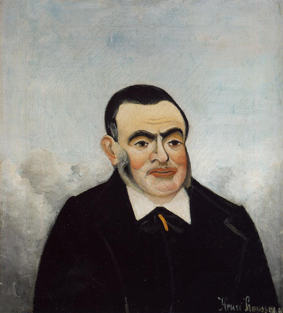 Portrait of a Man 1905 | Henri Rousseau | Oil Painting