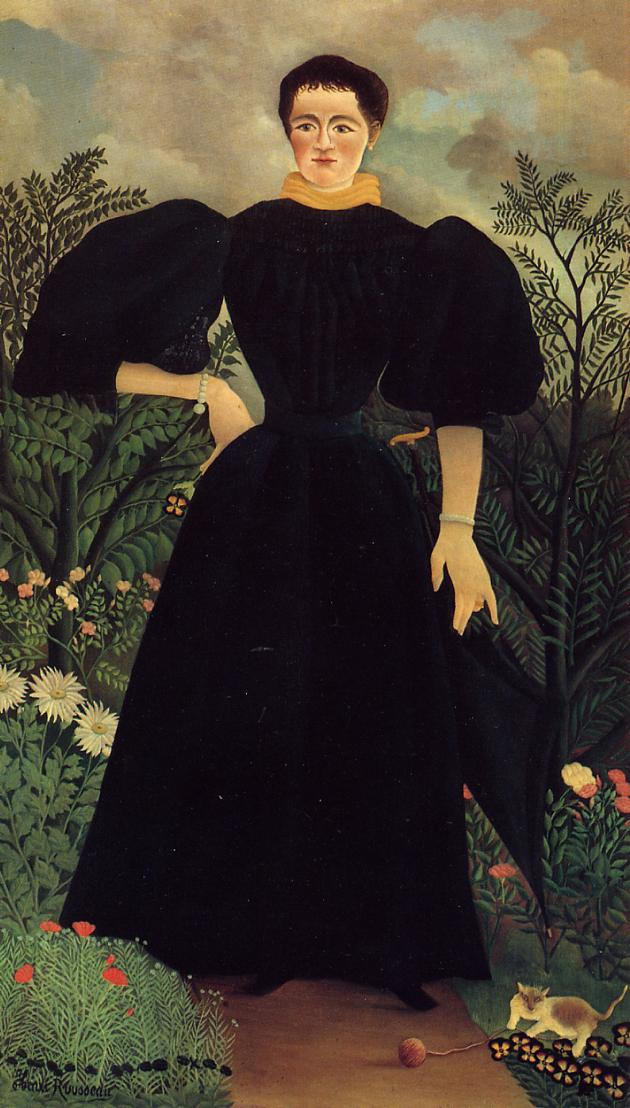 Portrait of a Woman 1895-1897 | Henri Rousseau | Oil Painting