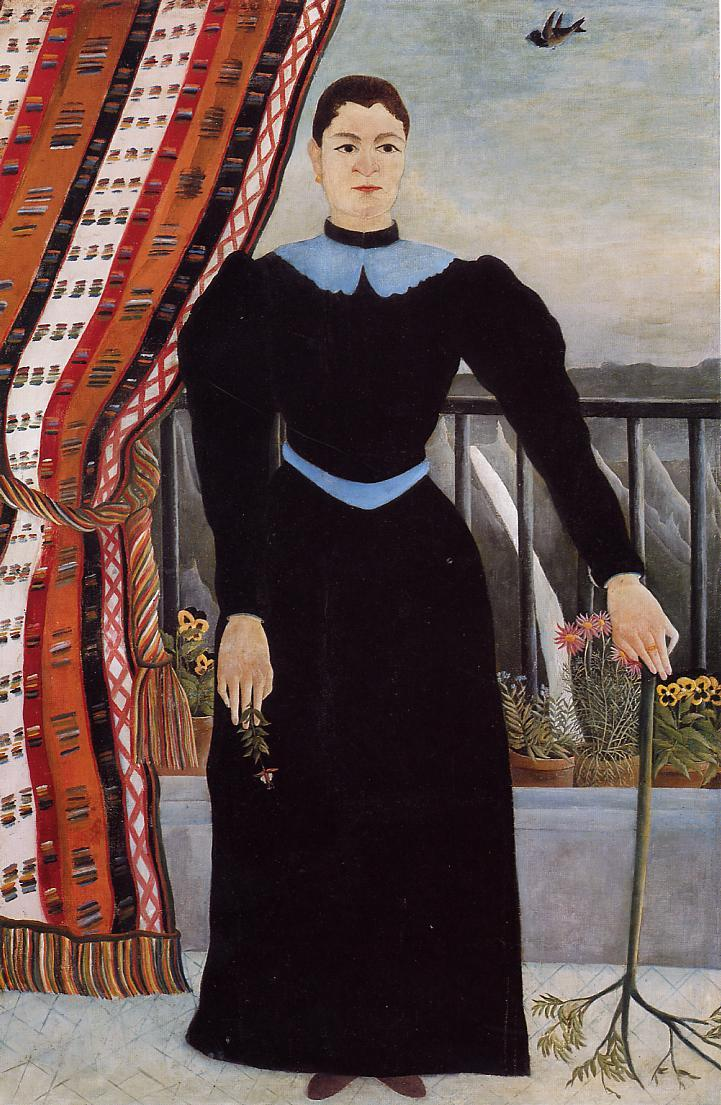 Portrait of a Woman 1895 | Henri Rousseau | Oil Painting