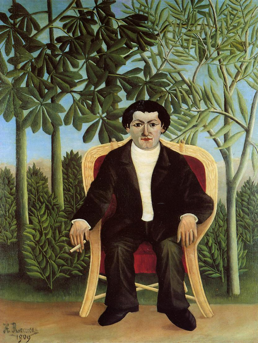 Portrait of Joseph Brummer 1909 | Henri Rousseau | Oil Painting